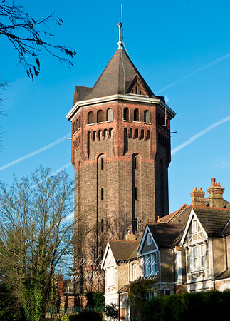 Dec' 15th 2014. Shooters hill water tower