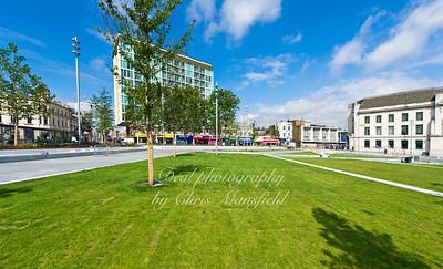 Rebuilding Gordon square