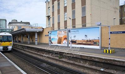 Feb 23rd 2012.. Woolwich Arsenal station