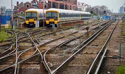 April 5th 2015. Plumstead station sidings