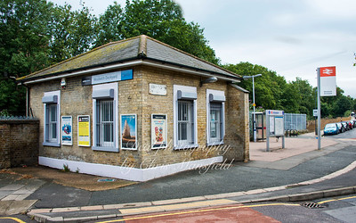 Woolwich dockyard station, Belson road, august 2nd 2013