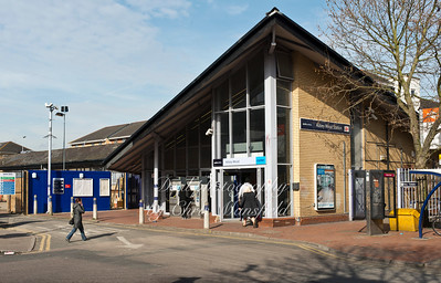 March 6th 2014. Abbey wood station ticket office