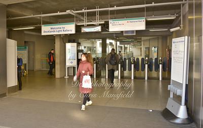 Feb 24th 2014.. Woolwich new road DLR entrance