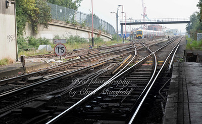 Sept' 16th 2014. Plumstead station looking east