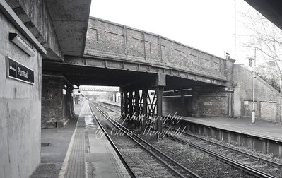 Dec' 5th 2013 .. Old road bridge Plumstead station