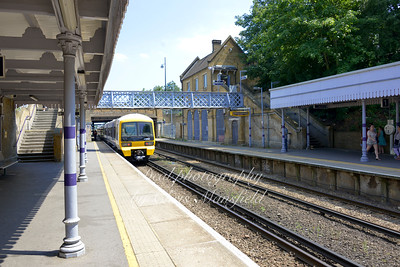 July 6th 2013 . Plumstead station