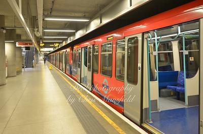 Feb' 24th 2014.. Woolwich DLR Station