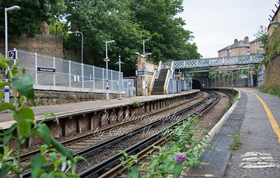 Woolwich Dockyard station, in need of a little TLC , August 2nd 2013