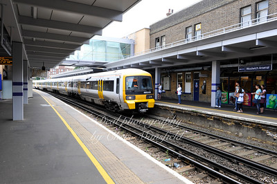 Aug 24th 2008 .. Woolwich Arsenal Station