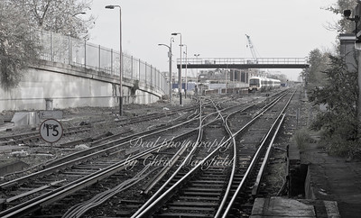 Dec' 5th 2013 .. Plumstead station sidings