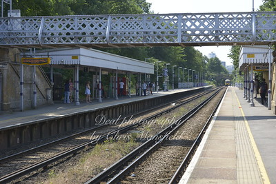 July 2013.  Plumstead train station