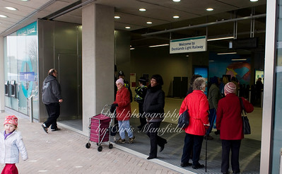 Jan 10th 2009 ..Woolwich DLR opening day..