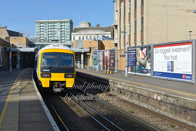 Feb' 22nd 2014.  Woolwich arsenal station