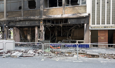 August 9th 2011.. The Great Harry pub after riots