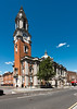 June 10th 2014 . Town hall and Market street