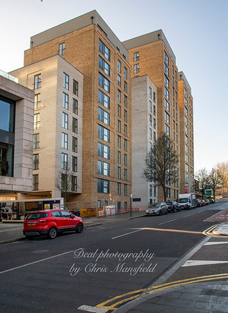 Dec' 30th 2019. New build flats in Wellington street