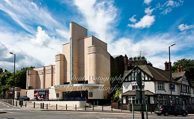 July 12th 2012.. Odeon cinema and Mitre Pub