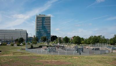 July 31st 2014 Skate park at Royal arsenal gardens