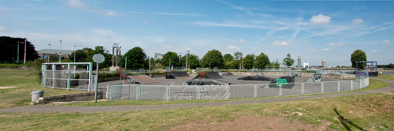 July 31st 2014  Royal arsenal gardens skate park