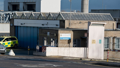 Feb 4th 2014. Woolwich Ambulance station