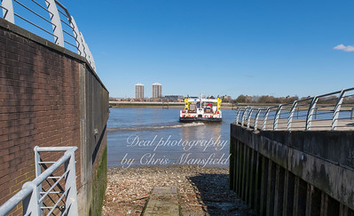 April 5th 2018.  Bell water gate slipway