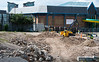 April 30th 2015. Groundworks on the site of the Crown and Cushion pub.