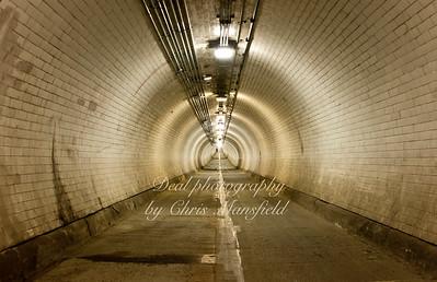 Feb 1st 2014 .. Woolwich Foot tunnel
