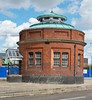 Sept' 12th 2015.  North Woolwich tunnel entrance