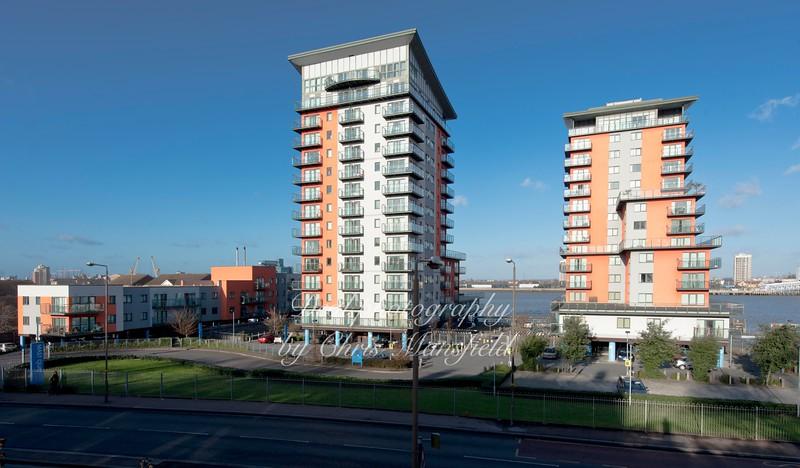 January 2nd 2015.  Mast Quay apartments
