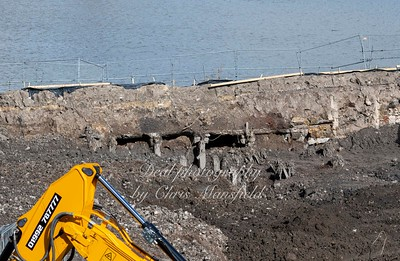 March 2nd 2020 .  Mast Quay excavations