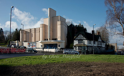 Feb' 4th 2014.. Ferry roundabout and Gateway house