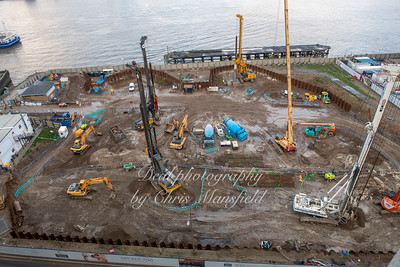 Nov' 21st 2018..   This site is what used to be the leisure centre car park...  before that it was the site of the Power station ..