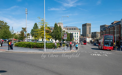 Aug' 22nd 2019,  Woolwich new road from corner of Thomas street