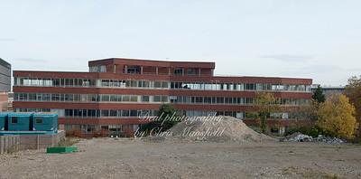 Nov' 4th 2010 .  PM House demolition