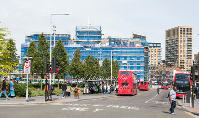 August 26th 2017.   Woolwich new road and Equitable house