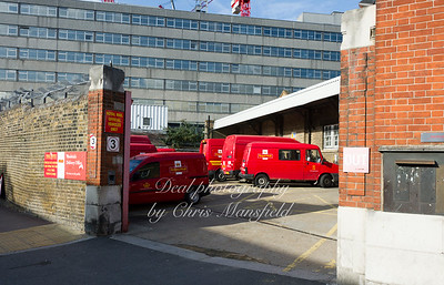 Sept' 22nd 2011.  Woolwich sorting office