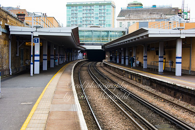 Jan' 30th 2017.  Woolwich arsenal station