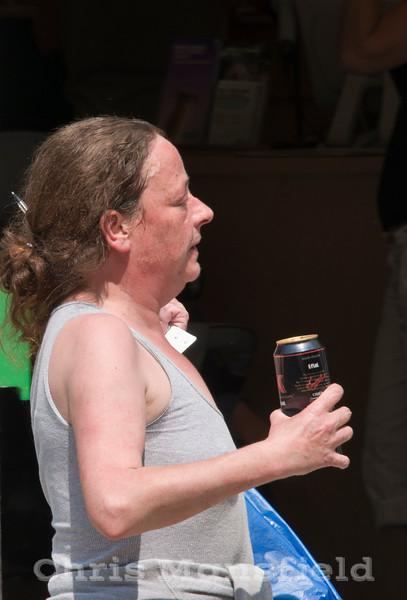 May 28th 2011.. Street drinker on Powis street