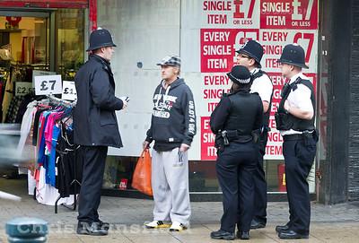Jan 21st 2012 .. Police officers
