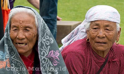 July 27th 2012.. Nepalese ladies on Gordon Square