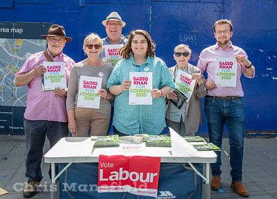 June 22nd 2019...  Members of the local Labour party were canvassing for their preferred candidate in the May 2020 Mayoral elections