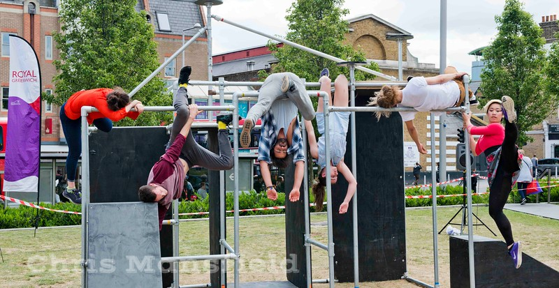 May 30th 2015, Parkour dance show in GG square