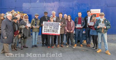Nov' 3rd 2018.  Members of the local labour party out in Woolwich spreading the party gospel
