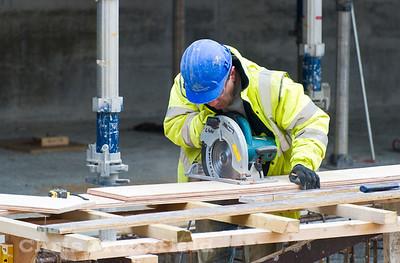 Jan 9th 2012... Tesco site worker