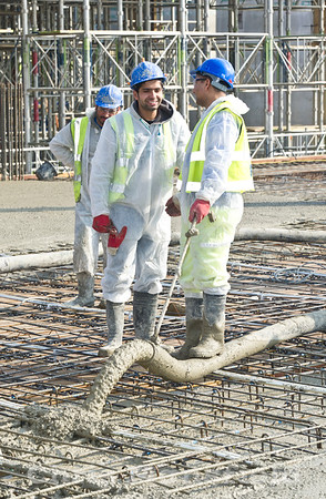 March 1st 2012.. Tesco site workers