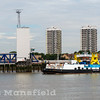 July 28th 2016. Woolwich ferry Ernest Bevin