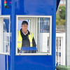 Aug 28th 2015. Ferry loading staff