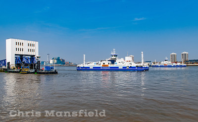 April 17th 2019  Woolwich ferries