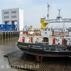 March 11th 2016. Woolwich ferry on maintenance grid