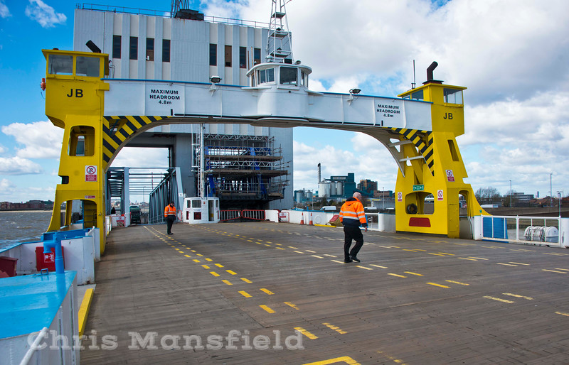 March 30th 2015 ,  John Burns about to load at north terminal